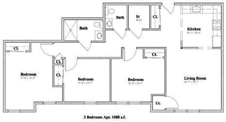 Devon Management - Floor Plans