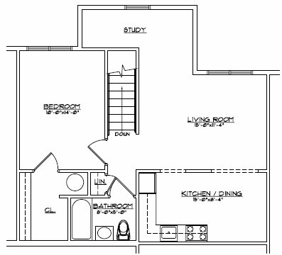 Devon Management - Second Floor Plan at Devon Wood in Warwick and Northgate Manor in Goshen